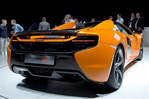 2015 McLaren 650S Spider Joins Coupe In Geneva