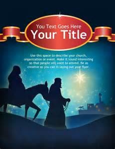 Church Christmas Program Flyer Templates