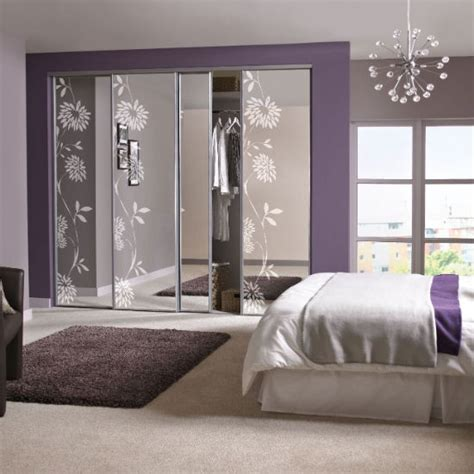 Bedroom Design Ideas B Q by Sliding Mirrored Wardrobes From B Q Fitted Wardrobes For