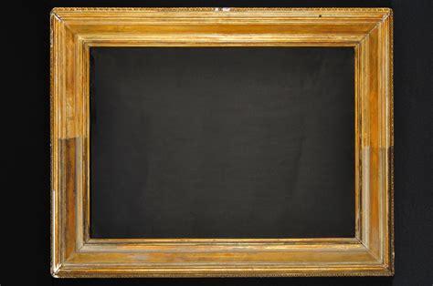 Fine Art Conservation. Conservation-restoration Of Frames