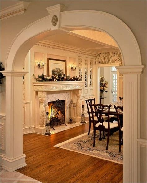 images  dining room fireplaces  pinterest