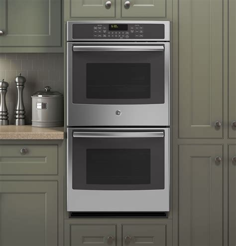 jksfss ge  built  double convection wall oven stainless steel