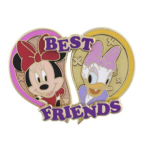 Disney Best Friends Pin Minnie Mouse And Daisy Duck