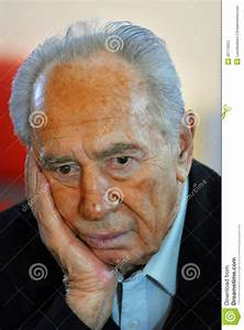 Shimon Peres - 9th President Of Israel Editorial Stock ...