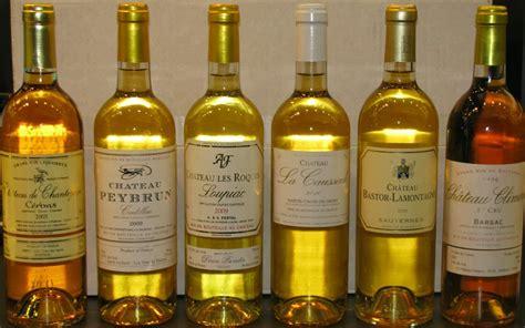 chroniques de vigne en bouche les vins blancs liquoreux