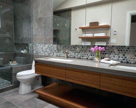 Contemporary Bathroom Backsplash Ideas by Top 70 Best Bathroom Backsplash Ideas Sink Wall Designs