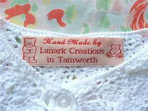 custom clothing labels personalized woven sew on labels With custom clothing labels low minimum