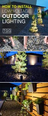 how to install low voltage outdoor lighting the garden glove