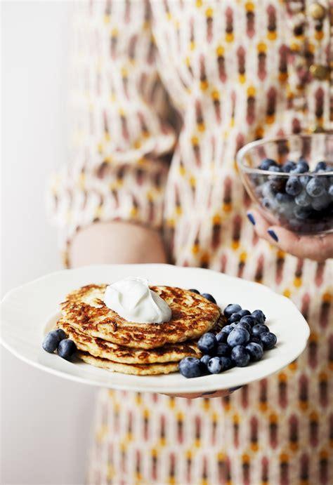 keto pancakes  berries  whipped cream diet doctor