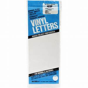 dura decal permanent adhesive vinyl letters jo ann With large adhesive letters