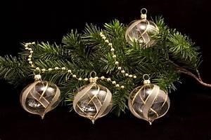 Weihnachtskugeln Aus Lauscha : 4 zwiebeln transparent gold gst christbaumkugeln ~ Orissabook.com Haus und Dekorationen