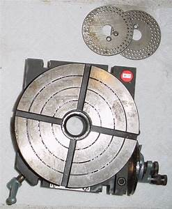 Fs  Emco 5 8 U0026quot  Precision Horizontal Indexing Rotary Table