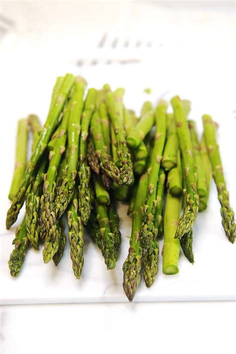 fryer air asparagus cook recipe roasted