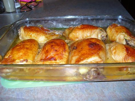 baked chicken quarters baked chicken thighs leg quarters recipe food com