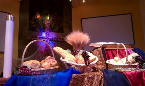 World Communion Sunday Altar Decoration