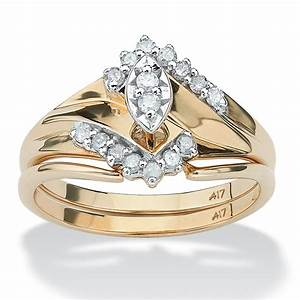 1 5 tcw marquise cut diamond 10k gold bridal engagement With palm beach wedding rings