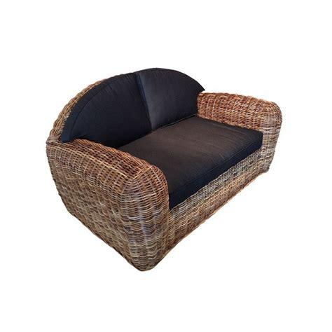 canape colonial canapé colonial en rotin meuble pour la véranda