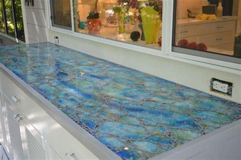 kitchen countertop laminate glass mosaic countertop moonfish artworks