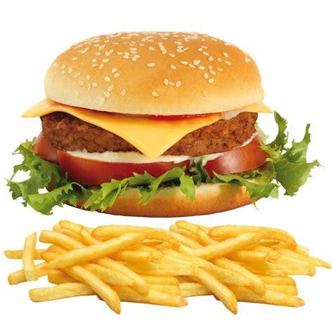 jeux de cuisine gratui coloriage hamburger et frites à imprimer