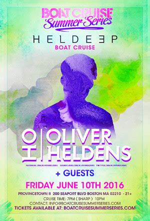 Oliver Heldens Boat Party Nyc by Heldeep Boat Cruise Oliver Heldens Royale Tickets 06 10 16