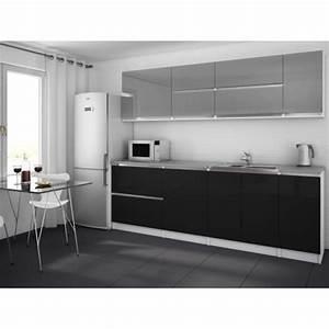 cuisine noire ou grise With cuisine grise et noire