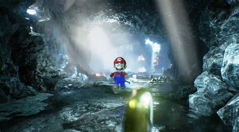 Super Mario Gets Remade In Unreal Engine 4 Gaming