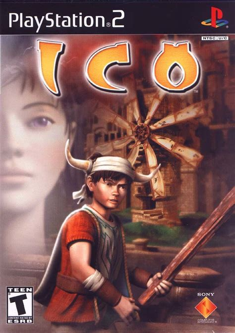 Ico 2001 Playstation 2 Box Cover Art Mobygames