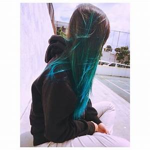 Atomic Turquoise Ombre - Hair Colors Ideas
