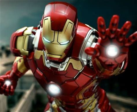 hot toys reveals avengers age  ultrons iron man mark