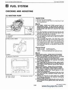 Kubota 92 4mm Stroke Series Engine Workshop Manual Pdf