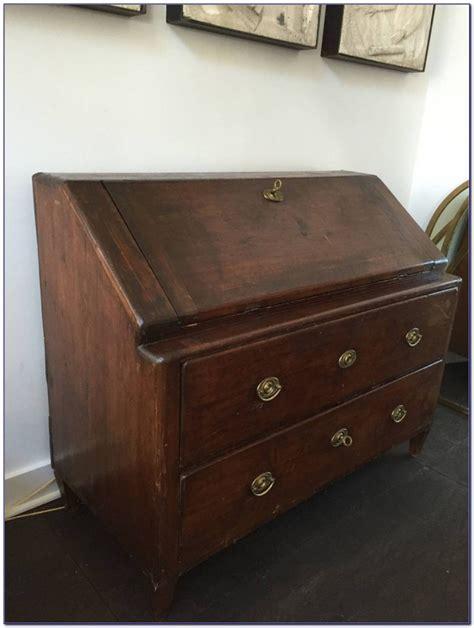 Drop Lid Secretary Desk  Desk  Home Design Ideas