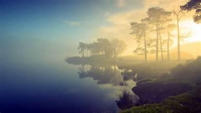 Mist Nature Water Lake Desktop Backgrounds Wallpapers