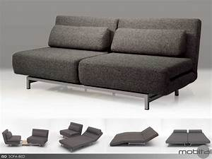 mobital iso charcoal tweed double sofa bed with 2 single With swivel sofa bed