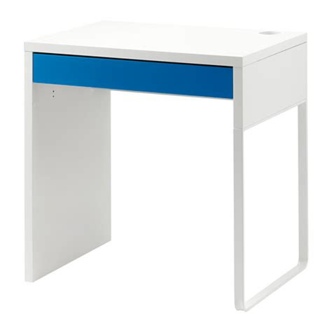 ikea bureau micke micke bureau wit blauw ikea
