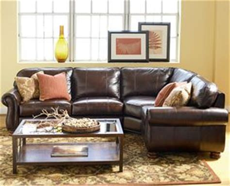 thomasville leather sofa benjamin thomasville benjamin sectional sofa looks and even