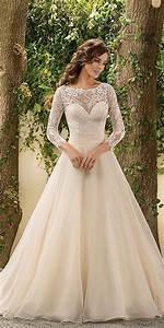 trubridal wedding blog 30 chic long sleeve wedding With long sleeve dresses for wedding