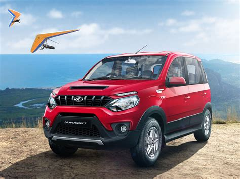 indian car mahindra mahindra nuvosport launched in india inr 7 42 lakhs