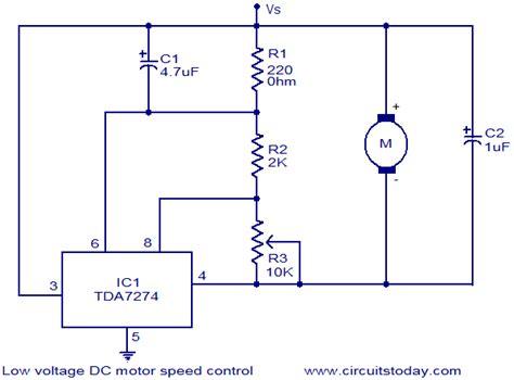 12 Volt Deer Feeder Wiring Diagram by Low Voltage Dc Motor Speed Circuit