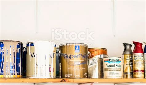 Assorted Cans Of Paint Spray Paint And Wood Stain Stock Decorating A Nautical Living Room The Bournemouth Zak Furniture Uk Only Designs With Brown Couch Rug On Blue Benjamin Moore Themed Ideas Kennewick Wa