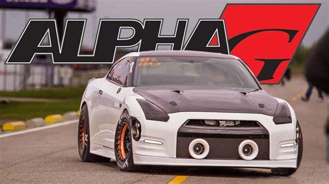 Alpha G Nissan Gtr  2000+hp Drag Car! 1320video