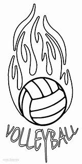 Volleyball Coloring Pages Printable Print Court Sheets Sports Cool2bkids Player Templates Template Under Easy Getdrawings sketch template