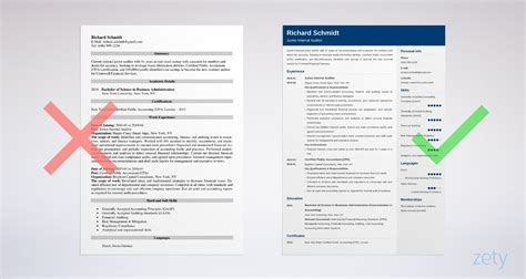 auditor resume sample guide  examples
