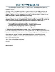 staffing coordinator resume cover letter leading professional shift coordinator cover letter