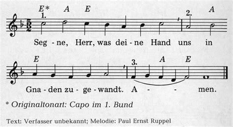 Segne, Herr, was deine Hand  Various  Christliche Lieder