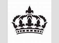Queens Crown Art Stencil 12