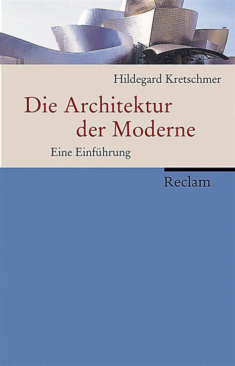 Die Architektur Der Moderne Buch Portofrei Bei Weltbildde