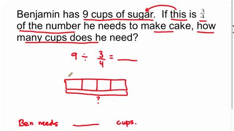 dividing fractions by fractions word problems kidz