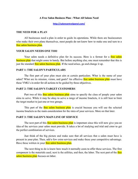 section 125 plan document template section 125 plan document how a plan document increases take home 2012 indexed figures