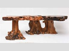 LargeScale Cypress Coffee Table at 1stdibs
