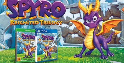 spyro reignited trilogy playstation  xbox  games